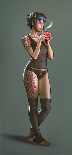 ArtStation - Morning coffee, Gui Guimaraes