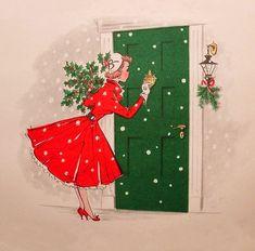 Knock...knock...it's Christmas...