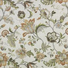 Stout Getaway 3 Amber Jacobean Fabrics Found on interior mall.com. Kitchen curtains? Upholstery?
