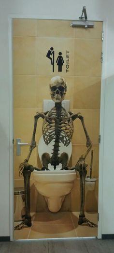 Toiletdeur van Jumpsquare
