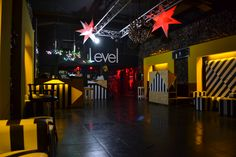 rediseño club nocturno LEVEL