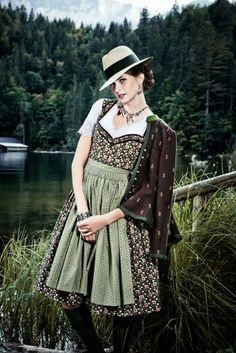 Lena Hoschek dirndl and jacket - Imageberatung mit www.image50plus.de