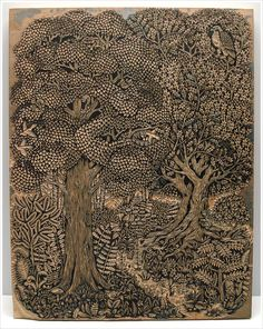 prior pinner: Paul Roden and Valerie Lueth, Woodblock carving for print, Tugboat Printshop Woodcuts Prints, Woodblock Print, Printmaking, Carving, Woodblocks, Wood Art, Illustration Art, Art, Prints