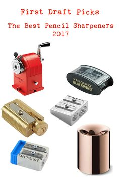 The Best Pencil Sharpeners - First Draft Picks Best Pencil Sharpener, First Draft, Usb Flash Drive, Stationery, Good Things, Stationeries, Papercraft, Paper Mill, Office Supplies