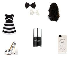 """""""Untitled #5"""" by urte-mile ❤ liked on Polyvore featuring Kate Spade, H&M and Nails Inc."""