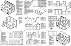 x Garage Plans Build our shed not only save you money, it enhances the value of your property as well, while solving many storage challenges. These samples are chosen at random from actual plans to show construction guide illustrations look like. Building A Storage Shed, Garden Storage Shed, Diy Shed, Building Plans, Garage Shed, Garage Plans, Shed Plans, Car Garage, Garage Workshop