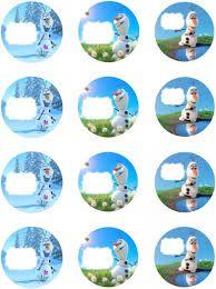 Afbeeldingsresultaat voor disney frozen free printable cupcake toppers star shaped