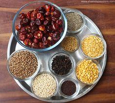 homemade sambar powder recipe a must in indian kitchen.how to make homemade sambar podi recipe.homemade sambar powder easy to make. Sambhar Recipe, Podi Recipe, Masala Powder Recipe, Masala Recipe, Homemade Spices, Homemade Seasonings, Chutney Recipes, Curry Recipes, Indian Food Recipes