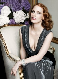 Love this woman.  Always strong.  Inside Jessica Chastain's New York City Apartment