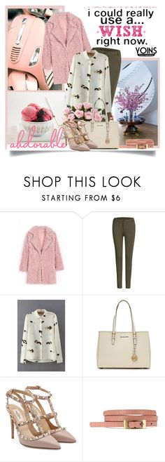 """""""Yoins 11"""" by danielle-broekhuizen ❤ liked on Polyvore featuring Baccarat, MICHAEL Michael Kors and Valentino"""