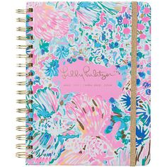 Lilly Pulitzer Lilly Pulitzer 2017-2018 Large Agenda - Gypsea (765 UAH) ❤ liked on Polyvore featuring home, home decor, stationery and books