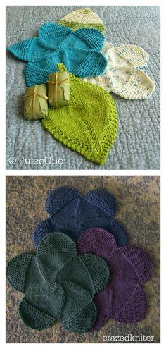 Flower Power Washcloth FREE Knitting Pattern #freeknittingpattern #washcloths #knittingforbeginners Loom Knitting, Loom Knit, Weaving, Knitting Stitches