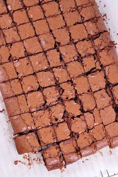 Nigella Chocolate Brownies from above Tray Bake Recipes, Brownie Recipes, Baking Recipes, Dessert Recipes, Cake Recipes, Blondie Brownies, No Bake Brownies, Baking Brownies, Cocoa Brownies