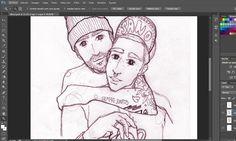 Ellos #illustration #ilustracion