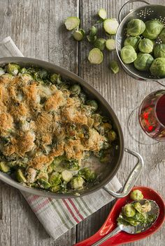 Susquehanna Style/ holiday recipes/ tradition/ family/ holiday season/ brussels sprouts au gratin/ brussel sprouts/ delicious/ quick and easy