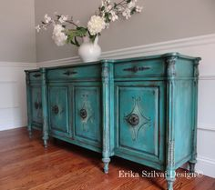 SOLD EIA MAGAZINE Exclusive  Hand Painted French Country
