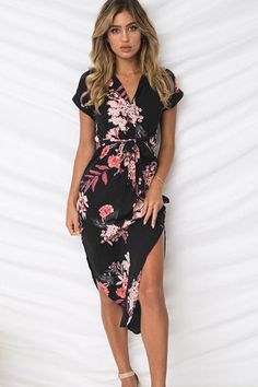 61cd1524481 Gogoyouth Long Bohemian Women Summer Dress 2018 Vintage Plus Size Tunic Beach  Dress And Sundress Black Party Dress Robe Femme-JetSet-JetSet