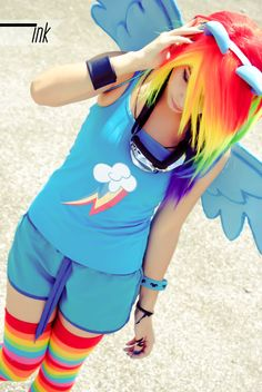 Share My Cosplay, Rainbow Dash! #cosplay #cartoons #reblogThursdays ...