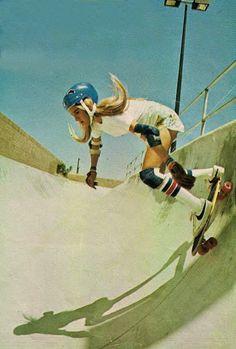 SKATING GIRLS//70's SPIRIT | RUBIA MALA DE LA MODA