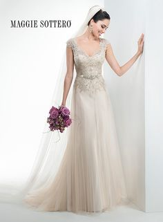 Large View of the Carmen Bridal Gown