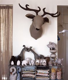 another Tamar Mogendorff. Craft Taxidermy.
