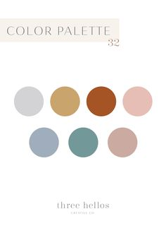 The perfect boho color palette for a nursery, home decor inspiration, wedding inspiration, or branding inspiration.  Jewel tones with a balance between bold and muted.