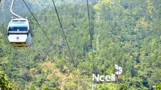 Cable Car -Manakamana ,Kurintar, Chitwan, Nepal Going Up