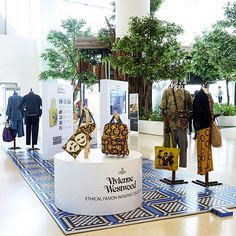 Whimsical and bold prints alert! Visit Vivienne Westwood's inspirational exhibition 'Ethical Fashion Initiative' from February 22 to March 9 2017 At Level 2 Central Embassy #VivienneWestwoodThailand #VWAfricaBagExhibition  via ELLE THAILAND MAGAZINE OFFICIAL INSTAGRAM - Fashion Campaigns  Haute Couture  Advertising  Editorial Photography  Magazine Cover Designs  Supermodels  Runway Models