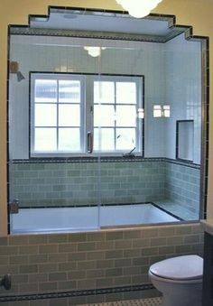 Tub And Shower Combination Design Ideas, Pictures, Remodel, and Decor - page 12