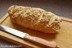Pain magique sans gluten avec croûte croustillante Bouillondidees