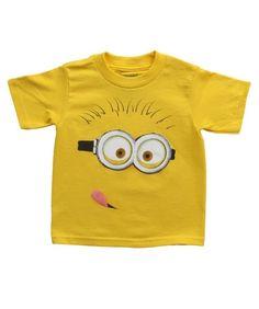 Despicable Me Minions Vest TShirt Top Singlet Kids Blue Dave Tim Minion Boys