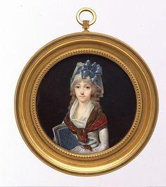 Portrait of a Woman, Jean-Baptiste Isabey, ca.1795