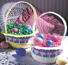 Leisure Arts - Colorful Easter Baskets