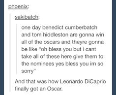 Bless the Oscars