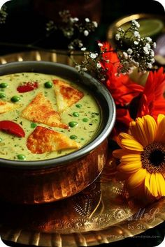 Nawabi Paneer Curry Recipe   Simple Paneer and Peas Curry Recipe -Nawabi Paneer Curry (Shallow fried Indian cottage cheese and green peas cooked in rich, creamy coconut and cashew nut gravy)