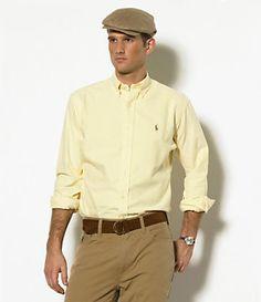 Polo Ralph Lauren Classic-Fit Woven Oxford Sportshirt | Dillard's Mobile