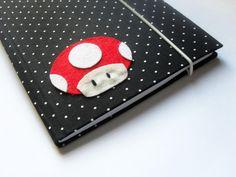 Caderno Toad - Mario Bros.