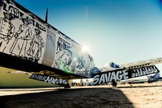 Graffiti on Abandoned Airplanes - Photo Gallery | The Boneyard Project