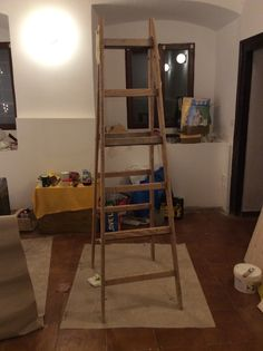 Old ladder turning into?