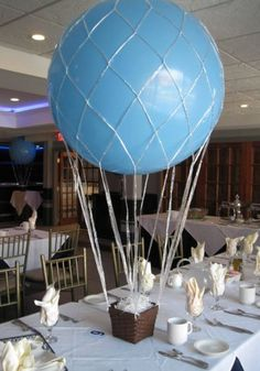 1000 images about hot air balloon decorations on for Balloon decoration guide