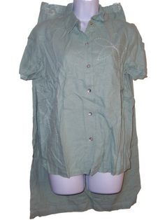Susan Graver Linen Rayon Pickstitch Embroidery Camp Shirt and Skirt Set (Medium 10 12, Sage green) Susan Graver. $42.50. Machine wash. Pull on elastic waist skirt. Camp shirt with short sleeves and button front. linen, rayon. machine wash. Pickstitch embrodiery on skirt hem, shirt front, back and sleeve