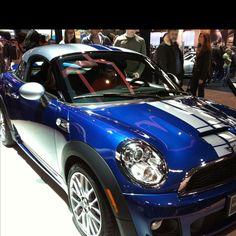 The new mini coupe.