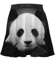 Panda circle skirt for kids, Mr. GUGU & Miss GO