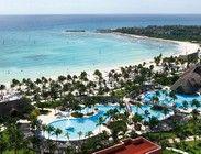 Vista aérea del hotel Barceló Maya Beach