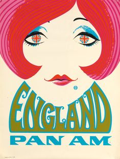 DESIGNER UNKNOWN ENGLAND / PAN AM. Circa 1969.