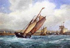 Frederick James Aldridge - Shipping off Shoreham.jpg (400×276)