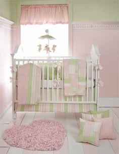 Baby Girl's Bedding