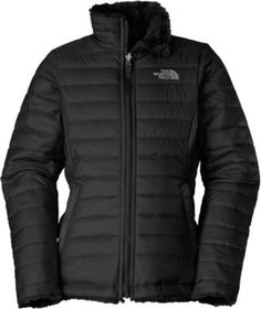 The North Face® Girls  Reversible Mossbud Swirl Jacket c8ab8616cd9
