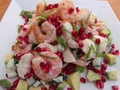 Not Your Traditional Thanksgiving Dinner ........Shrimp And Potato Salad