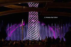 Arredamento urbano , illuminazione . Albero della vita Expo .